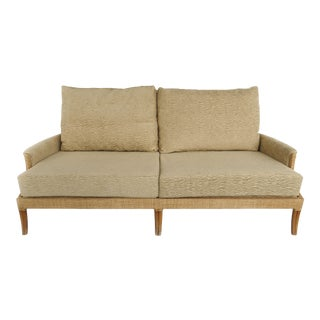 Orlando Diaz for Azcuy McGuire Furniture Reed Sofa For Sale