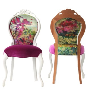 Juliette French Occasional Chair For Sale