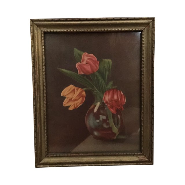 """""""Tulips in Vase"""" Painting - Image 1 of 5"""