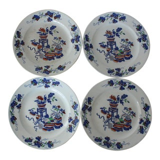 Spode Chinoiserie Dessert Plates - Set of 4 For Sale