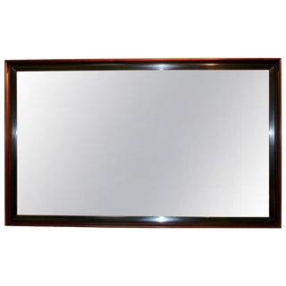 Paul Frankl Two-Tone Wall Mirror For Sale