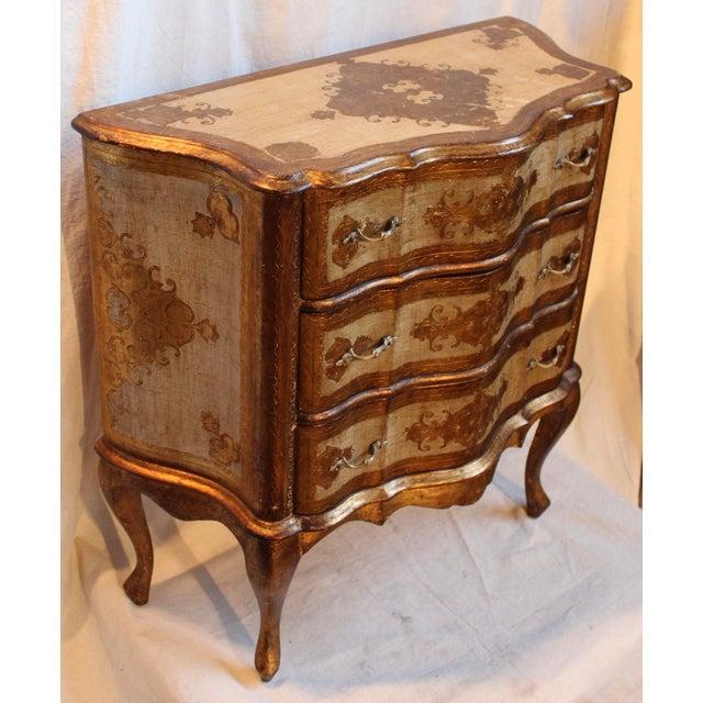 Vintage Italian Gilt Wood Dresser - Image 3 of 11