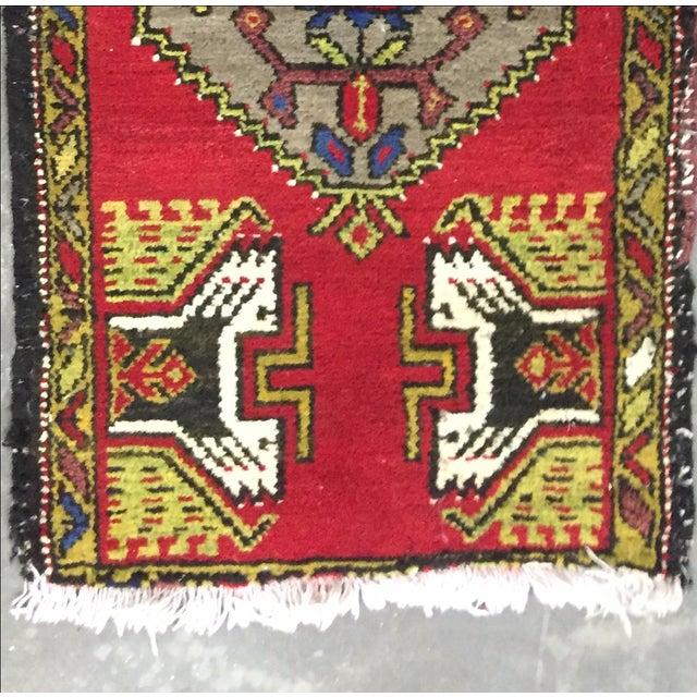 Anatolian Persian Rug - 1′7″ × 3′1″ - Image 4 of 7
