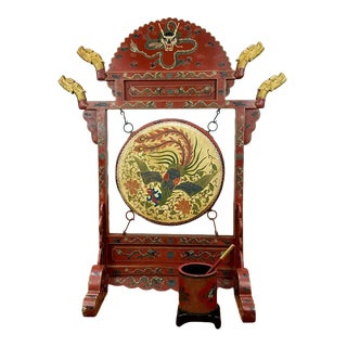 Chinese Ceremonial Drum