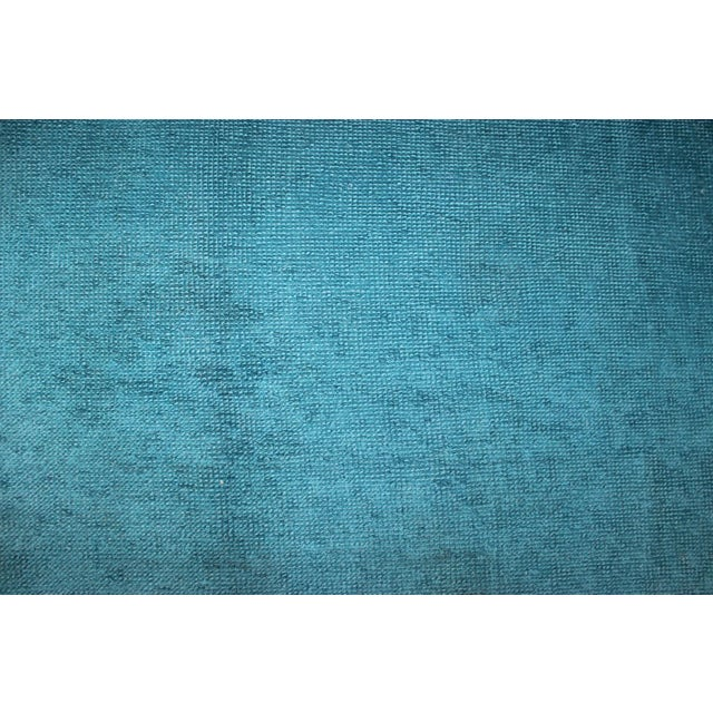 Overdyed Blue Turquaz Rug - 5′10″ × 9′2″ For Sale In Atlanta - Image 6 of 7