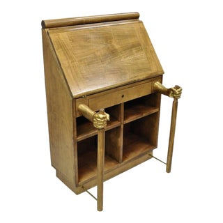 20th Century Regency Adolfo Natalini for Mirabili Amanuense Secretary Desk For Sale