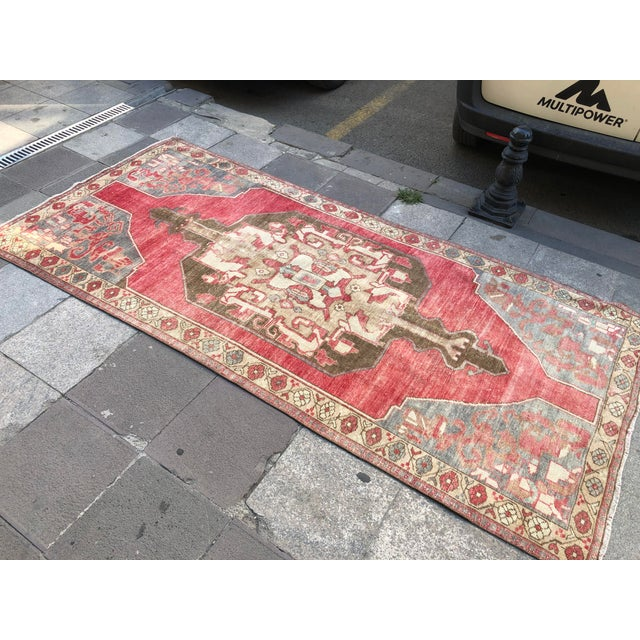 Tribal Turkish Carpet For Sale In Austin - Image 6 of 11