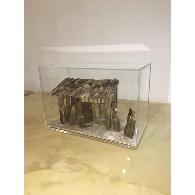 Customizable Nativity Scene in Driftwood and Lucite Object D'Art by AMK for Patricia Kagan - Image 5 of 7