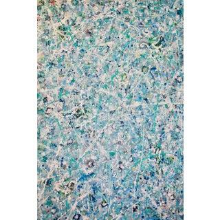 Ellen Schuster Pick Up Sticks Original Abstract Painting For Sale