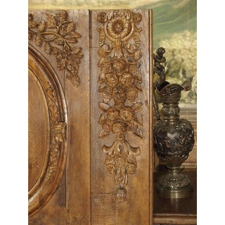 Exceptional 18th Century Oak Boiserie Panel From Chateau Saint-Maclou, Normandy France Preview