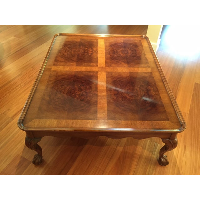 Chippendale Style Henredon Mahogany Coffee Table - Image 2 of 9