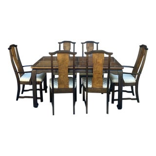 Broyhill Premiere Collection Ming Style Dining Set - Table and 6 Chairs For Sale