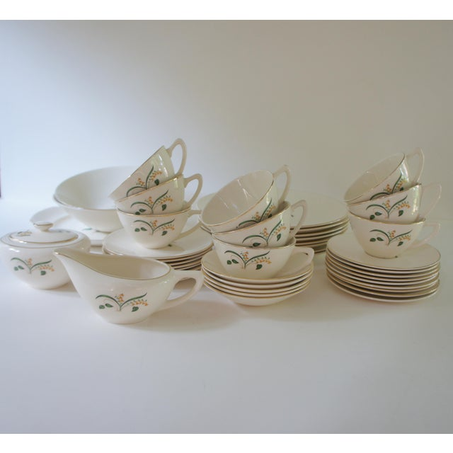 1960s Vintage Knowles Forsythia Dinnerware Service Set - 44 Pieces For Sale - Image 13 of 13