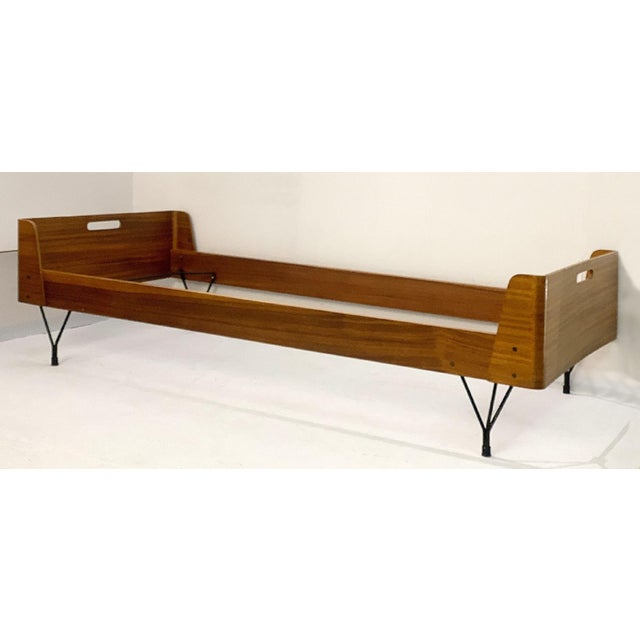 1950s Pair of Beds by Rima and Designed by Gaston Rinaldi - Italy 1950s For Sale - Image 5 of 8