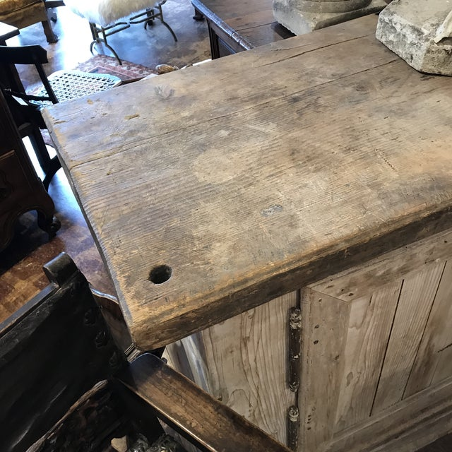 French Bleached Two Door Buffet For Sale - Image 4 of 8