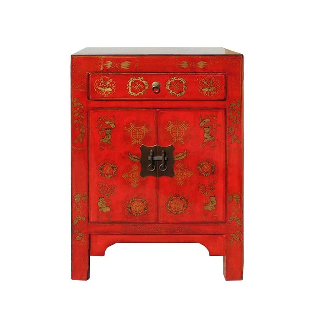Chinese Side Table Cabinet - Image 1 of 6