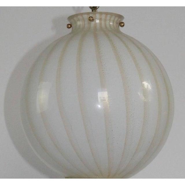 Mid-Century Modern Murano Lighting Chandelier - Image 2 of 6