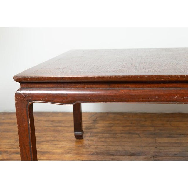 1950s Vintage Thai Open Mat Top Inlay Dining Table For Sale - Image 5 of 11