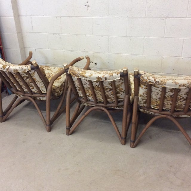 Bamboo McGuire Style Bamboo Patio Set For Sale - Image 7 of 13