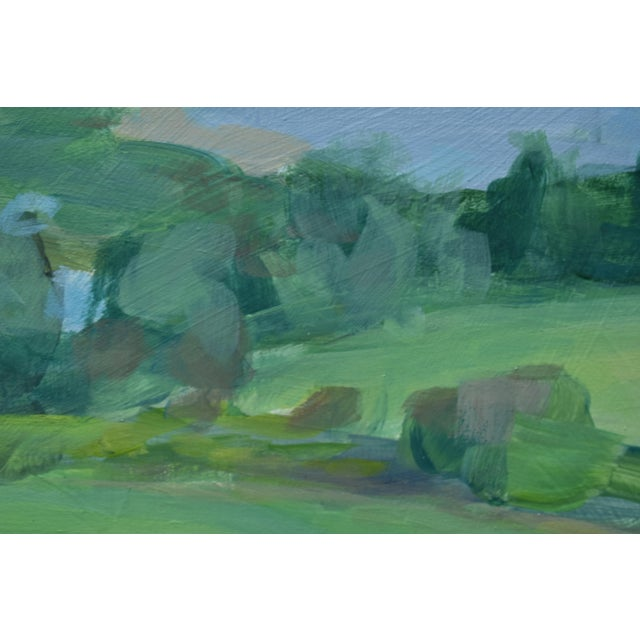 """2010s Contemporary """"Surf N Turf"""" Plein Air Painting by Stephen Remick For Sale - Image 5 of 8"""