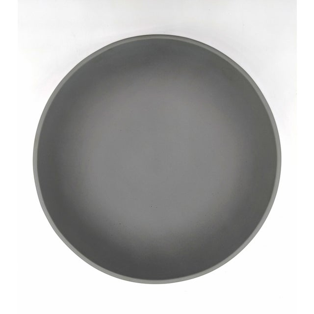 Gray 20th Century Wedgwood Jasperware Gray and White Bowl For Sale - Image 8 of 10