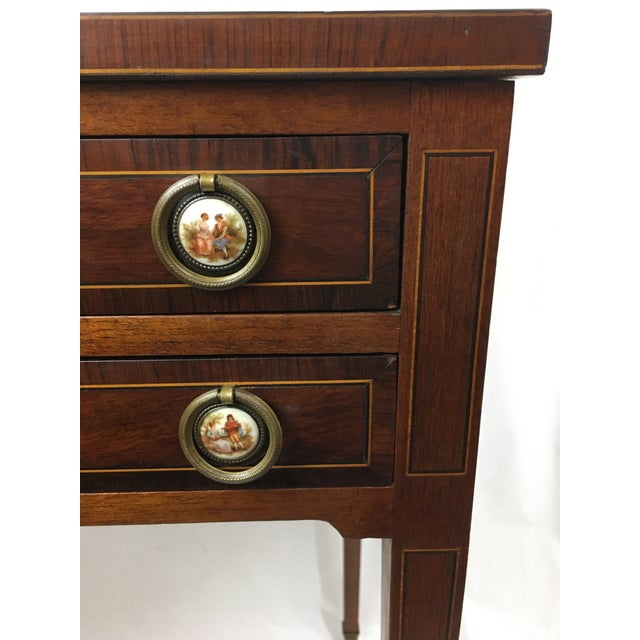 British Colonial Early 20th Century Mahogany Vanity For Sale - Image 3 of 13