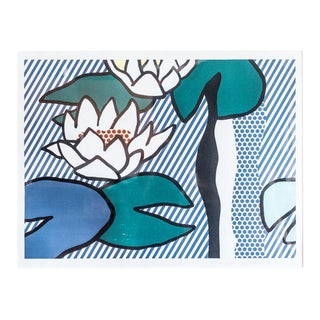 "slant select -- ""Les Nympheas"" by Roy Lichtenstein For Sale"