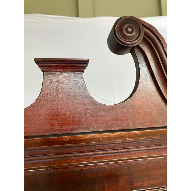 Antique Mahogany China Cabinet For Sale - Image 10 of 12