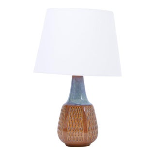 Stoneware Model 1002 Table Lamp by Einar Johansen for Søholm, 1960s For Sale