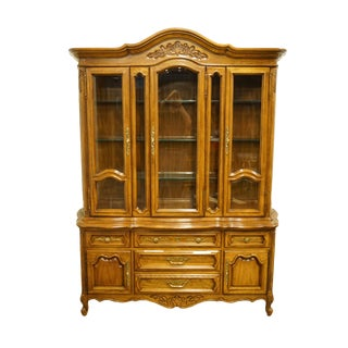 Unique Furniture Country French Provincial China Cabinet For Sale