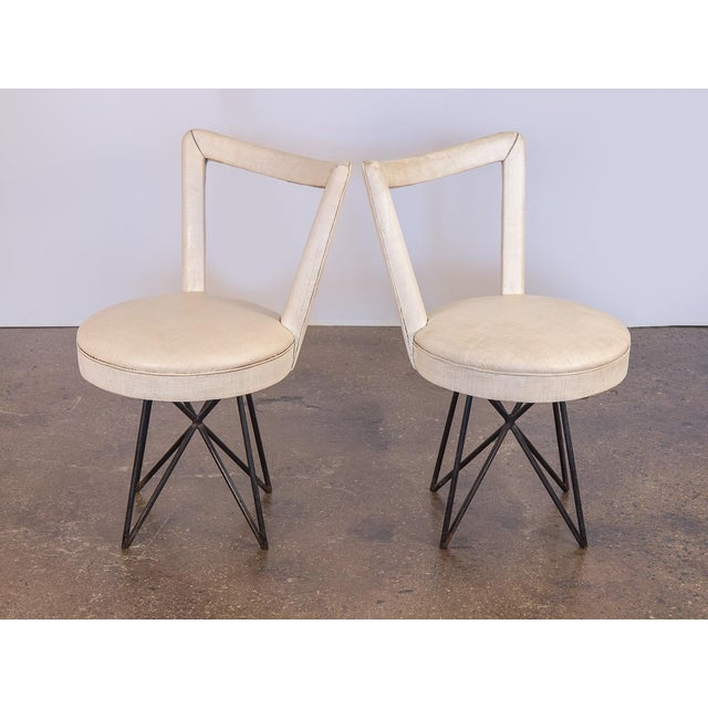 1950s Occasional Side Chairs - A Pair For Sale - Image 10 of 10