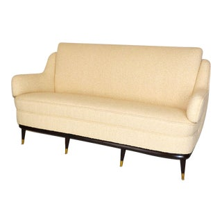 Sculptural Italian Sofa For Sale