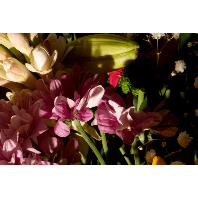 """Traditional 2021 """"Colorful Flower Bouquet Mix I"""" Still Life Giclée Print by Kind of Cyan For Sale - Image 3 of 7"""
