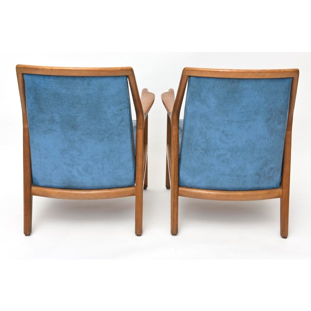 1950s Pair of Italian Modern Walnut Armchairs, Carlo de Carli For Sale - Image 5 of 11