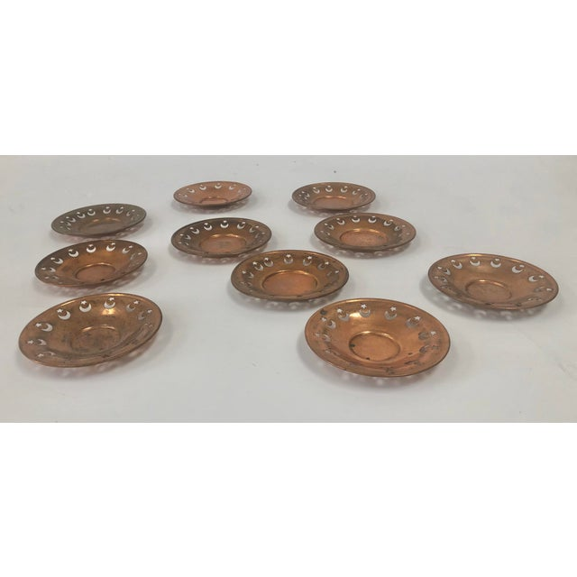 Moon and Star Votive Candle Dishes - Set of 10 For Sale - Image 4 of 5