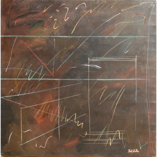 Nick Wallis, More Afterthoughts 7, Acrylic on Canvas, Signed l.r. For Sale - Image 4 of 4