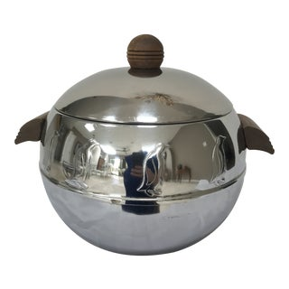 1950s Vintage West Bend Hot & Cold Server Penguin Ice Bucket For Sale