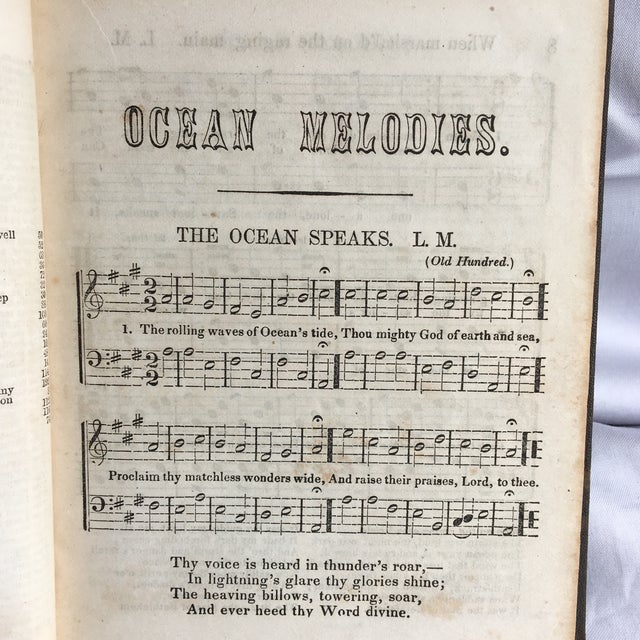 Ocean Melodies and Seaman's Companion 1866 For Sale - Image 4 of 13