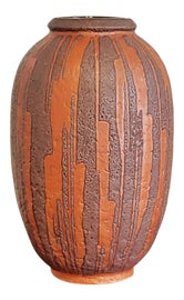 Image of Burnt Orange Vases