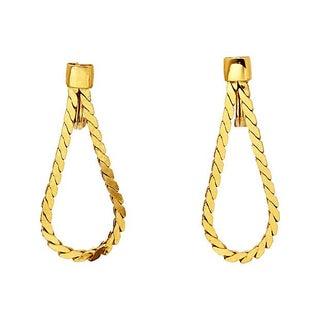 Monet Braided Clip Back Earrings For Sale