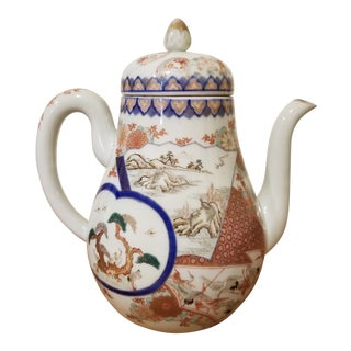 Antique Japanese Teapot For Sale