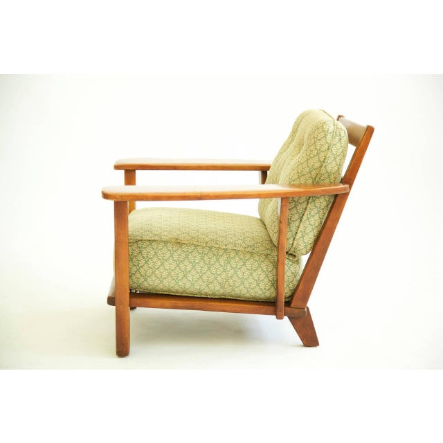 Herman DeVries Paddle-Arm Lounge Chair For Sale In New York - Image 6 of 10
