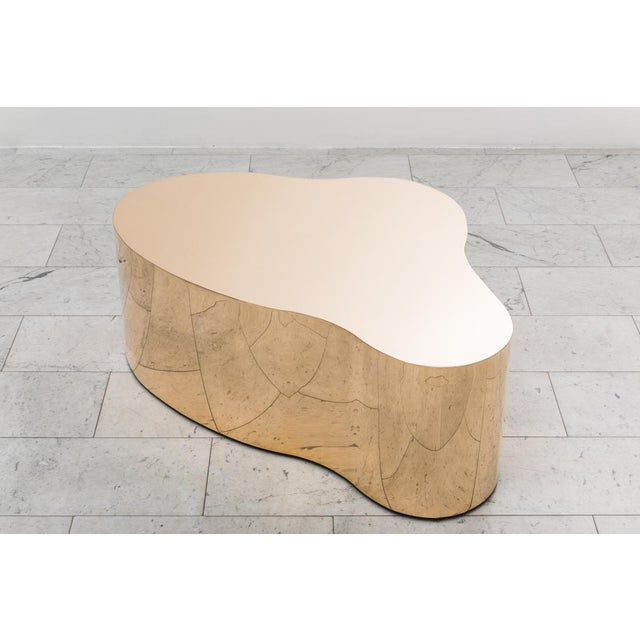 The Free Form Low Table, was the first piece reissued under the gallery's exclusive representation of Karl Springer LTD....