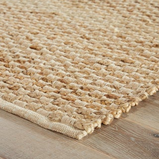 Jaipur Living Braidley Natural Solid Beige Area Rug - 5′ × 8′ Preview