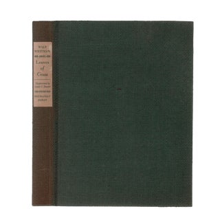 "1940 ""Slipcased Edition, Leaves of Grass"" Coffee Table Book For Sale"