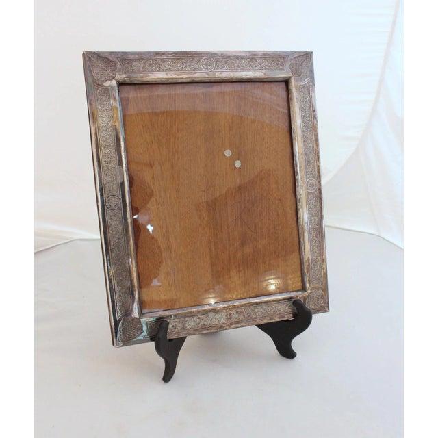 Ottoman Hand Engraved Silver Frame   Chairish