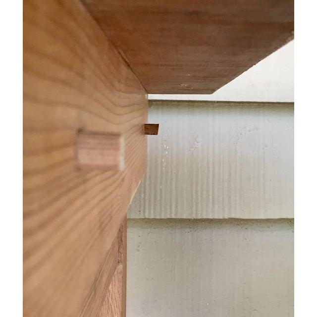 French Pine Single-Drawer Desk - Image 6 of 11