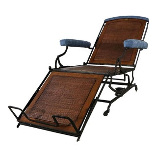 Marks Adjustable Folding Chair Company Campaign Style