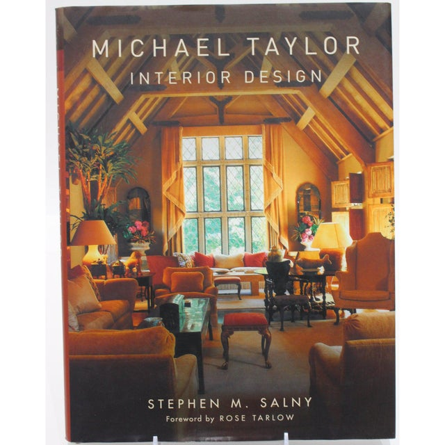 """""""Michael Taylor Interior Design"""" New Book.. Hardcover this is our design showroom display copy. This book includes not..."""