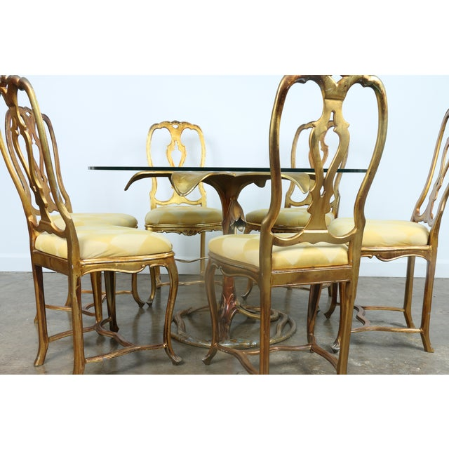 Arthur Court Gilded Lily Dining Set - Set of 7 - Image 3 of 10